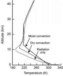 Thermodynamic Atmosphere Profile