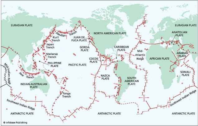 Mount Helens Plate Boundary Map