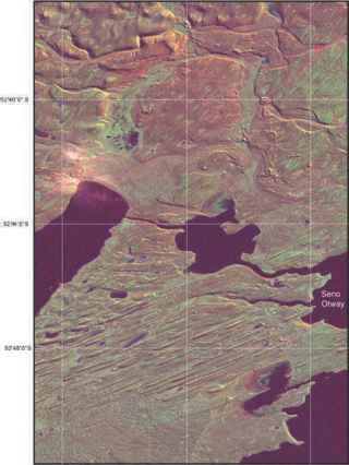 Landsat Image North And South America