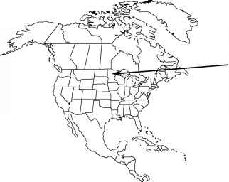 North America Map Outline