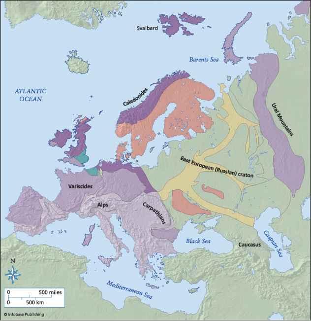 Caspian Sea Trapped Oceanic Crust - Plate Tectonics