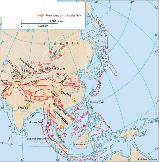 India Asia Collision Tectonic